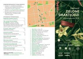Festiwal Zielone Smaki Łodzi to nie tylko specjalne dania, ale też wykłady, wycieczki i pokazy.