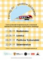 Lokalne dziedzictwo kulinarne to bardzo dobry motyw przewodni wycieczek po regionie łódzkim (w wykonaniu Regio).