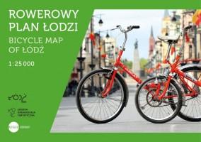Rowerowy plan Łodzi wydany wspólnie z Łódzką Organizacją Turystyczną (wersja polsko-angielska).