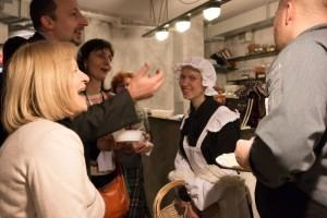Podczas kulinarnej gry miejskiej zawsze jest okazja nie tylko spotkać wyjątkowych animatorów ale również spróbować tradycyjnych łódzkich potraw, np. żulika czy zalewajki.