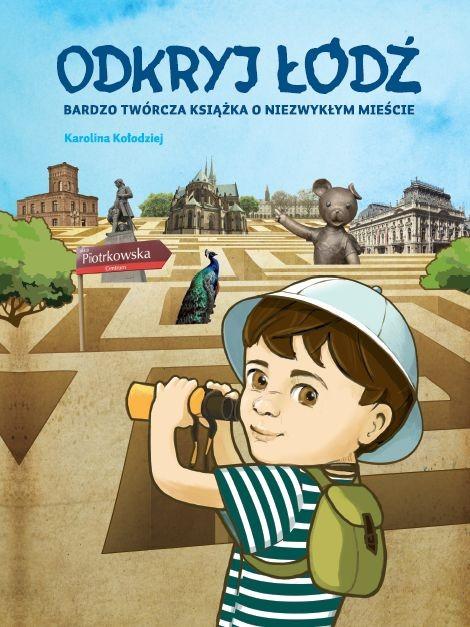 Odkryj Łódź – okładka