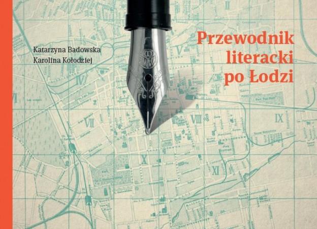 Przewodnik literacki po Łodzi – okładka